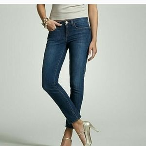 J crew toothpick ankle stretch jeans